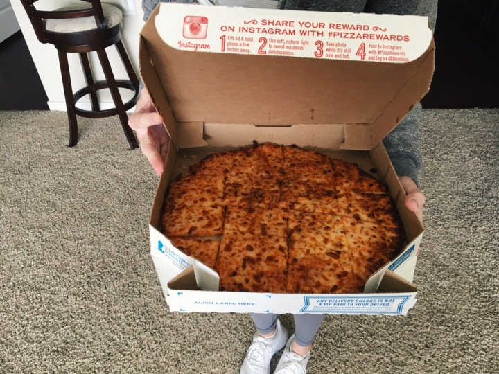 I really like pizza, okay.
