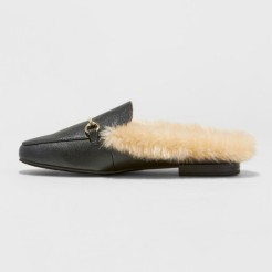 Furry Flats Side View